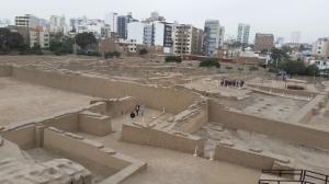 Um sítio arqueológico no meio da cidade