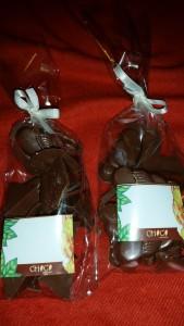Nosso chocolate!! Fabricação própria :p