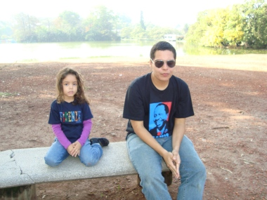 Páscoa 2010 com tio Allan
